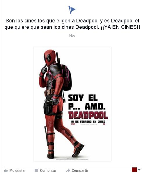 Cine Cual Es Tu Opinion De Deadpool Bds Blog De Superheroes