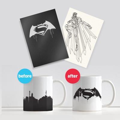 Pósters y tazas de Batman v Superman: El Amanecer de la Justicia (2016)
