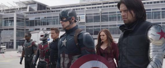 Captura del Spot de la Super Bowl de Capitán América: Civil War (2016)