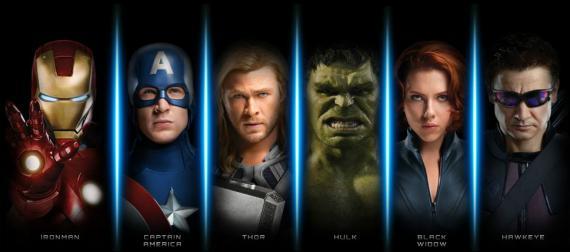 """Imagen promocional de """"The Avengers"""" / """"Los Vengadores"""" (2012)"""