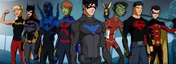 Promo de la segunda temporada de Young Justice
