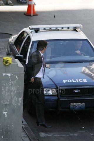 Imagen del set de rodaje de The Dark Knight Rises