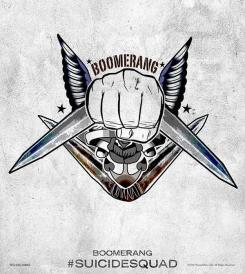 Póster de Capitán Boomerang en Escuadrón Suicida (2016)