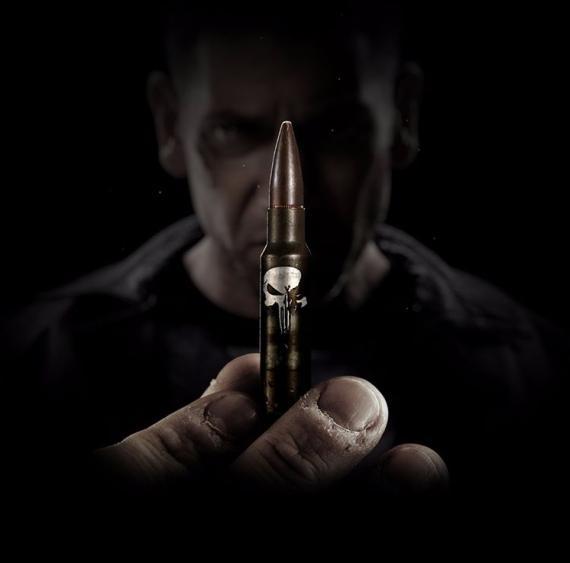 Imagen promocional de la segunda temporada de Marvel's Daredevil centrada en Punisher