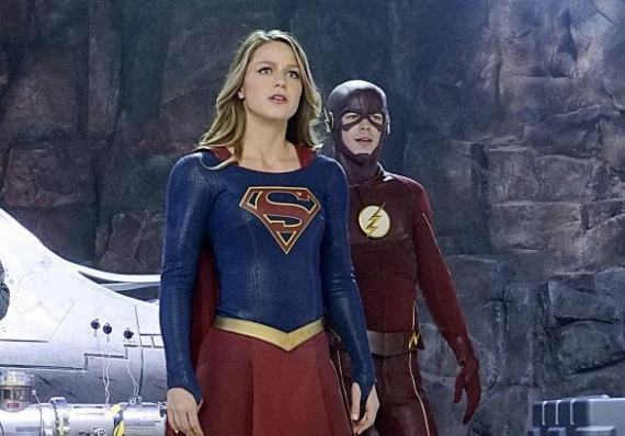 Imagen de Supergirl 1x18: Worlds Finest, crossover con The Flash