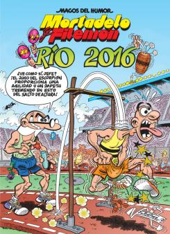 Portada de Mortadelo y Filemón. Río 2016