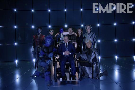 Trajes a color de X-Men: Apocalipsis