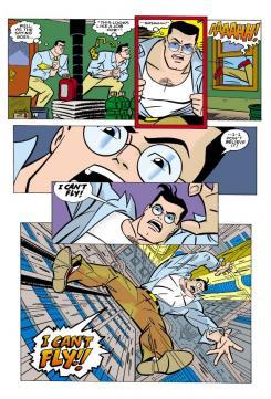 Página de Superman Adventures de Mark Millar