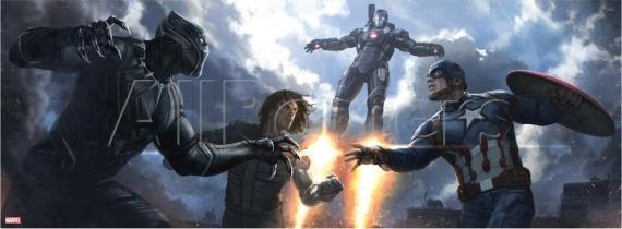Arte conceptual de Capitán América: Civil War (2016)