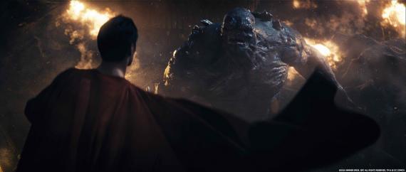 Comparativa de imágenes de Batman v Superman con y sin efectos especiales