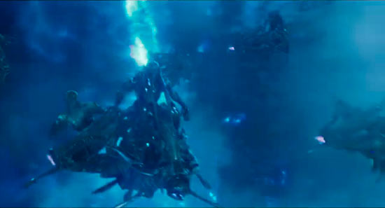 Captura del trailer japonés de The Avengers / Los Vengadores (2012)