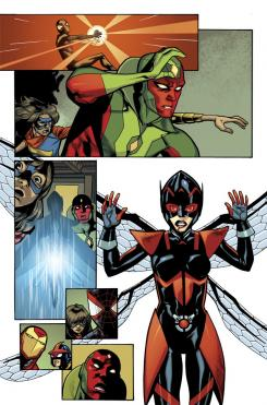 Preview del cómic All-New All-Different Avengers #9