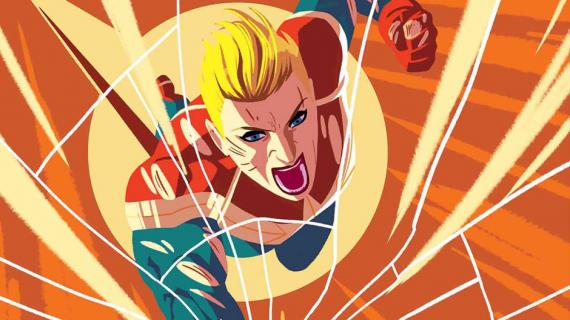 Captain Marvel / Capitana Marvel en los cómics Marvel, por Kris Anka