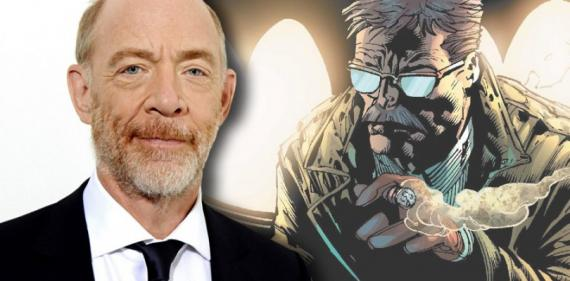 J.K. Simmons es James Gordon en Justice League: Part One (2017)