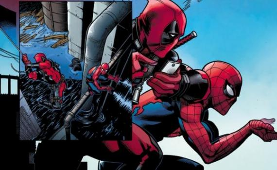 Spider-Man y Deadpool en los cómics