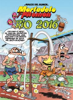Portada del cómic Mortadelo y Filemón: Río 2016