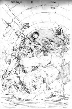 Pencil art del cómic Amazing Spider-Man #688 (Junio 2012), No going back