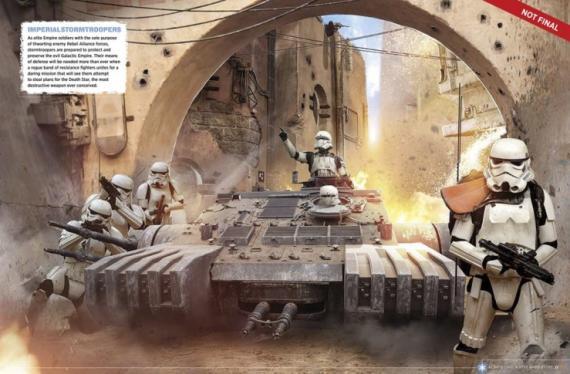Imagen de la guía visual oficial de Rogue One: Una historia de Star Wars (2016)