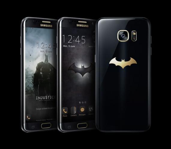 Imagen del Samsung Galaxy S7 Edge Injustice Edition