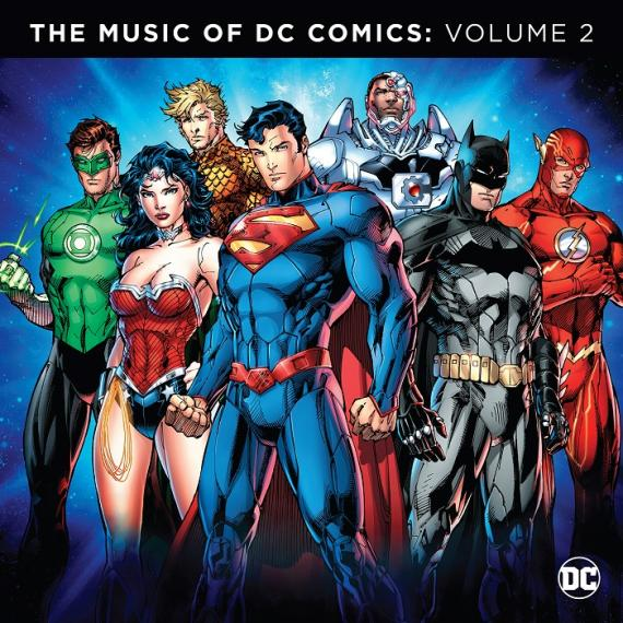 Portada de The Music of DC Comics Vol. 2