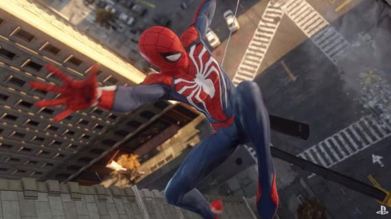 Captura del trailer de Spider-Man PS4 (2017)