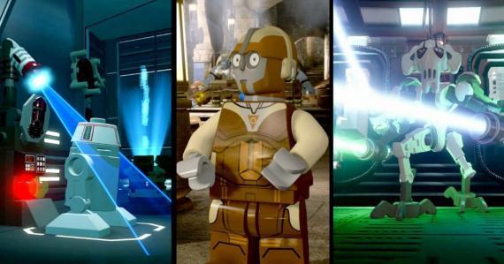 Imagen del Droids Character Pack de LEGO Star Wars: El Despertar de la Fuerza (2016)