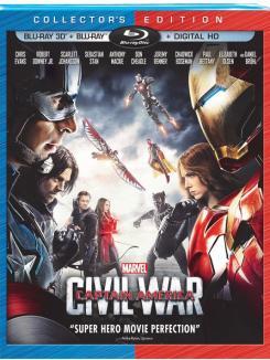 Carátula de Capitán América: Civil War (2016)
