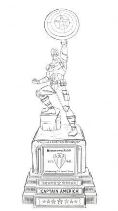 Capitán América tendrá una estatua en Brooklyn para honrar al personaje