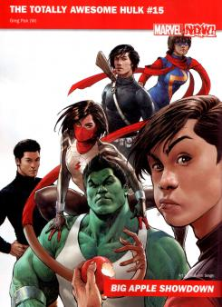 Avance Marvel NOW!: The Totally Awesome Hulk #15