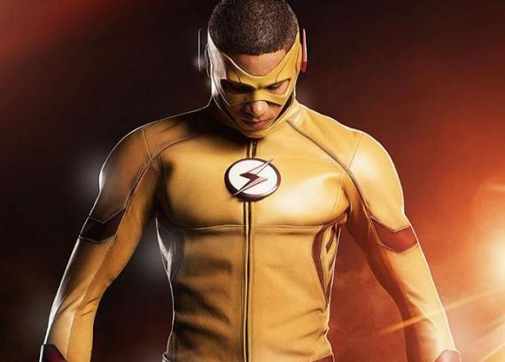 Primer vistazo a Wally West como Kid Flash