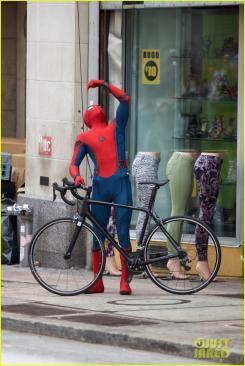Imagen del set de Spider-Man: Homecoming (2017)