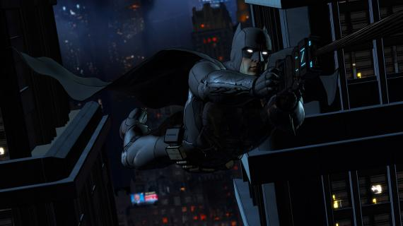 Imagen del primero episodio 'Realm of Shadows' de Batman: The Telltale Series (2016)
