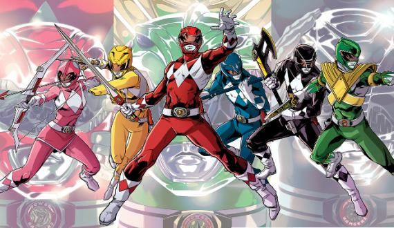 Mighty Morphin Power Rangers en BOOM! Studios