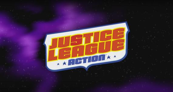 Captura del primer trailer de Justice League Action