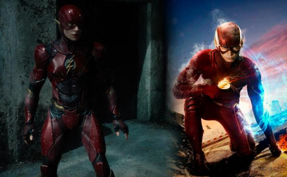 Comparativa entre el Flash de Justice League (2017) y el Flash de la serie The Flash