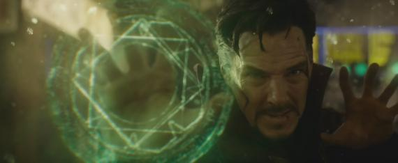 Captura del segundo trailer de Doctor Strange (2016)