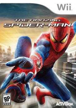 Caratula para Wii del juego The Amazing Spider-Man (2012)