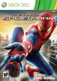 Caratula para Xbox 360 del juego The Amazing Spider-Man (2012)