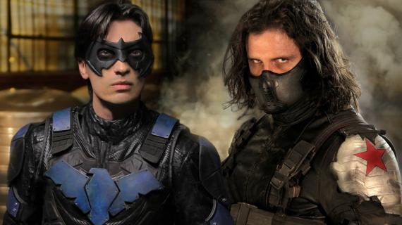 Super Power Beat Down: Nightwing contra Winter Soldier