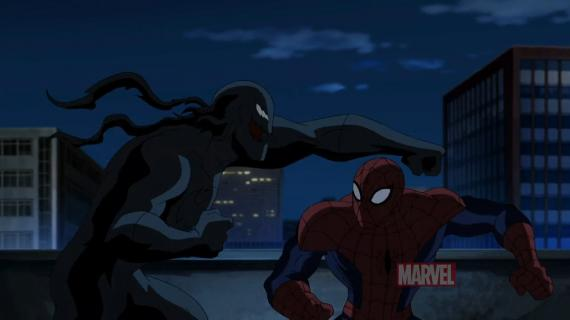 "Captura del trailer de ""Ultimate Spider-Man"""