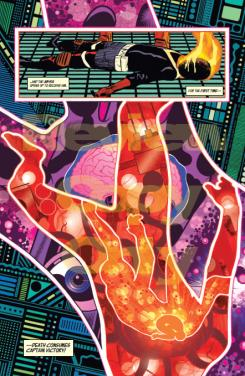 Imagen de Captain Victory and the Galactic Rangers #1, por Joe Casey y Nathan Fox