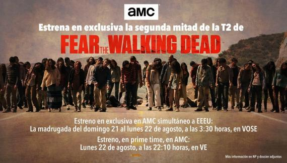 Avance de la segunda temporada de Fear The Walking Dead
