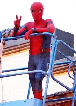 Imagen del set de Spider-Man: Homecoming (2017)