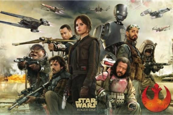 Póster de Rogue One: Una historia de Star Wars (2016)