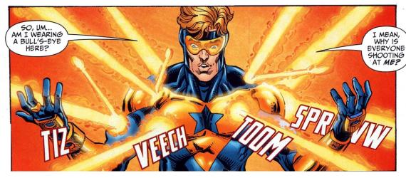 Booster Gold en los cómics de DC