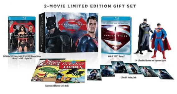 Edición limitada de Batman v Superman: El Amanecer de la Justicia con El Hombre de Acero
