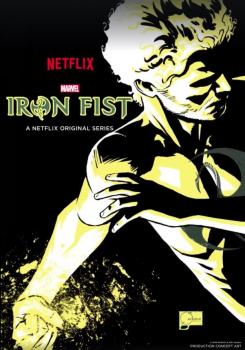 Póster de Marvel's Iron Fist por Joe Quesada