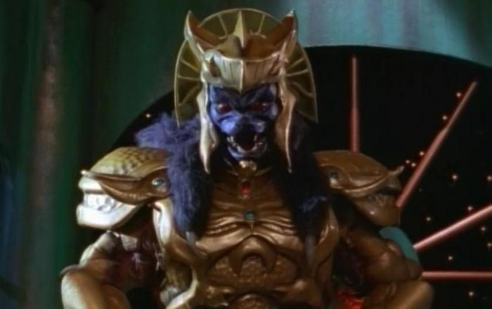 Goldar en Power Rangers