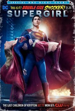 Referencia a Crisis en Tierras Infinitas en el póster de Supergirl para el episodio 2x02
