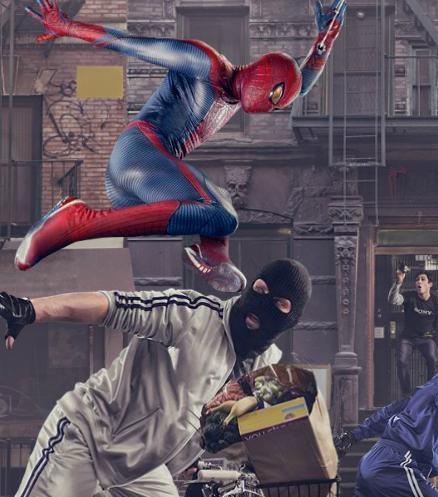 """Imagen promocional para Sony NEX y """"The Amazing Spider-Man"""""""